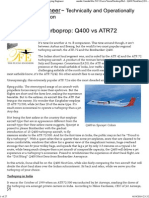 Proud to Fly a Turboprop_ Q400 vs ATR72