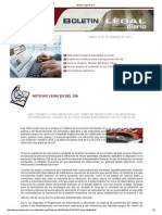 Boletin Legal Diario 160913