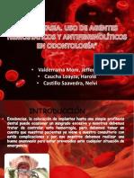 Agentes Hemostaticos y Antifibrinoliticos 2