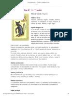 Oraculo Belline Nº 11 - Traición _ La Magia del Tarot