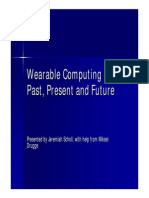Wearable PastPresentFuture