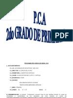 Pca Del Colegio Los Angeles-2014