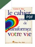 Cahier Pratique Transformez Vore Vie