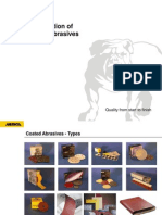 Construction of Coated Abrasives