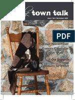 Uxbridge Town Talk November 2009