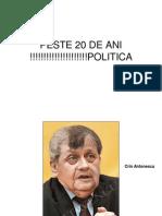 PESTE 20 DE ANI !!!!!!!!!!!!!!!!!!!!!POLITICA