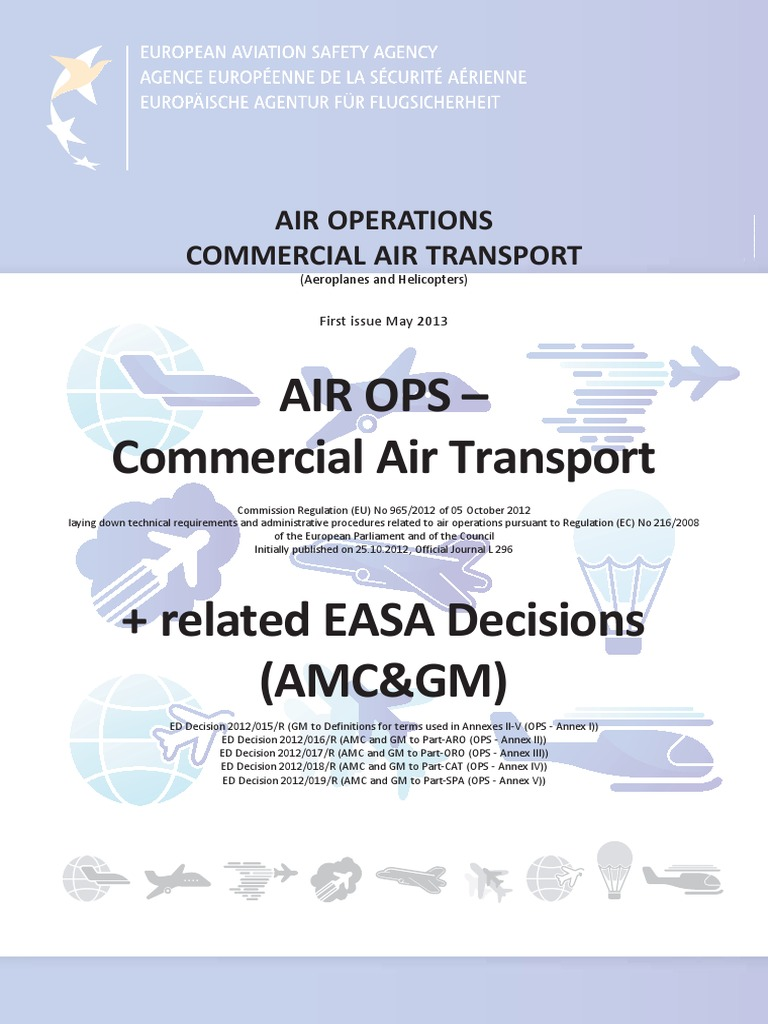 air ops part i to v amc gm consolidated easa pdf pdf air rh scribd com Employee Manual Template Operations Manual Examples