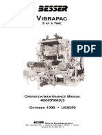 Vibrapac Maintenance Manual