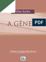 A Genese Allan Kardec