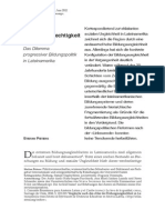 bildungspolitik lateinamerika