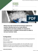 Types of Ice Machines _ Ice Machine Buying Guide