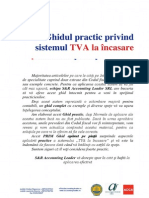 Ghid TVA La Incasare S&R Accounting Leader