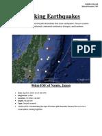 tracking earthquakes isabella winward