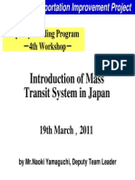Mass Transit System in Japan