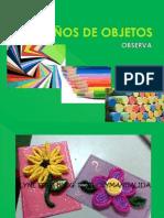 1° - DISEÑOS DE OBJETOS