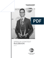 1171 Speech Contest Rulebook 2013