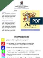 1. APS Concepto, Importancia y Situacion en Chile