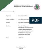Informe Ley Universitaria