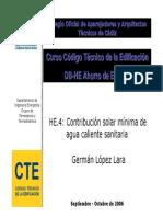 HE4-Solares Térmicas