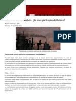 Gasificación del carbón