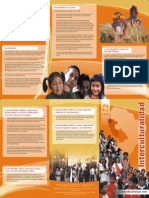 Brochure Interculturalidad