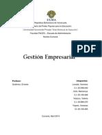 Gestión Empresarial -  Portada, índice...