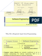 Software Engineering Myths and Realities...Become an Engineer Rather than a Coder