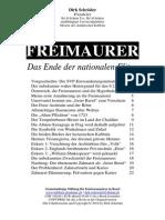 Freimaurer - Das Ende Der Nationalen Eliten