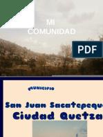 Presentacion de Ciudad Quetzal