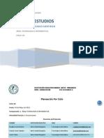 Plan de Estudios Tecnologia Ciclo 2