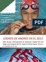 Logros Deportivos Andres 2013