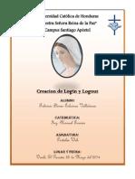 Creacion de Login y Logout