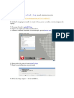Instlacion QRDAT en XO 1.5