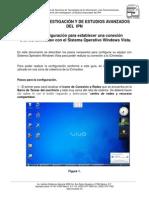 iCinvestav Manual Windows Vista