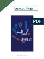 language arts design final pdf