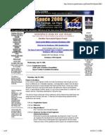 NewSpace 2006 Program