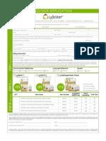Lyfestart Advisor Application