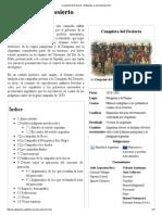 Conquista Del Desierto - Wikipedia, La Enciclopedia Libre