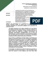 Resolucion 0377-2004-TDC fines del Proced. concursal, autonomía privada, impulso de oficio