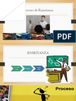 proceso de  enseñanza