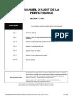 Perf Audit Manual Fr