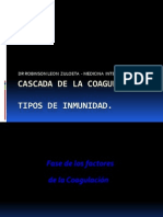 Cascada de La Coagulacion y Fibrinolisis
