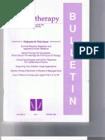Psychotherapy Bulletin 30(1) Spring 1995