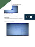 Cara Setting Bios Instalasi Windows 7