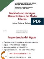 Metabolismo Del Agua y Medio Interno