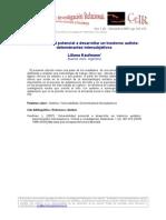 12L_Kaufman_Vulnerabilidad Potencial a Desarrollar Un Trastorno Autista_CeIR_V1N2