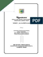 Contoh SK Panitia UN 2013 (Sekolah Penyelenggara)