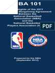 NBA Collective Bargaining Agreement Highlights