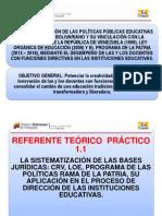 1.1  POLÍTICAS PÚBLICAS EDUCATIVAS neptaly