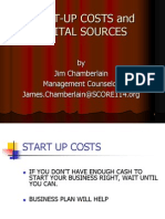 Start-up Costs and Capital Sources Byob (1)